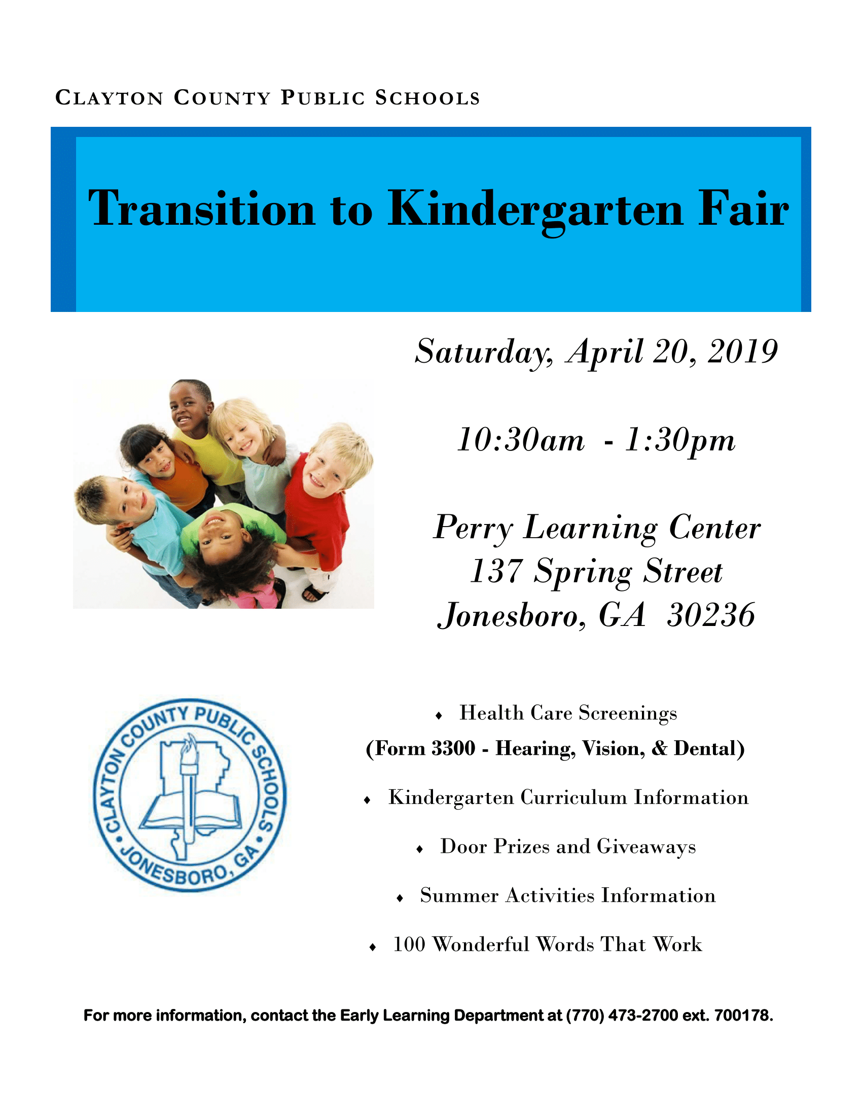 Transition into kindergarten